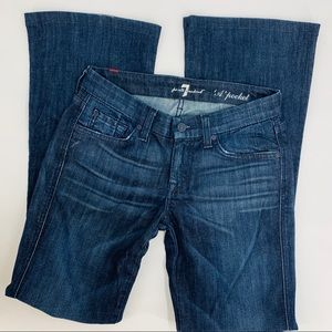 7 For All Mankind 26 boot cut jeans